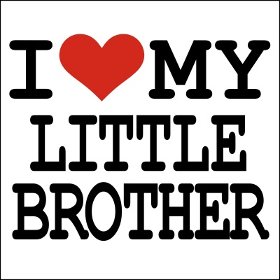 I Love My Little Brother T Shirt
